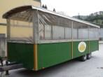Traktor-Anhängerdach mit Sichtfenster