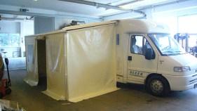 Caravan-Planenvorzelt - nach Kundenwunsch gefertigt