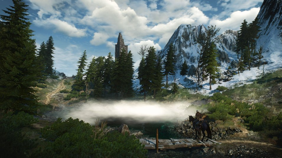 Witcher 3 - Skellige Landschaft