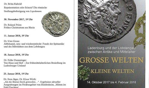 Ausstellung in Ladenburg: Römer, Alemannen und Franken!
