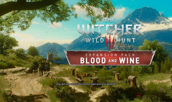 Blood and Wine – Wahnsinns-DLC zu The Witcher 3