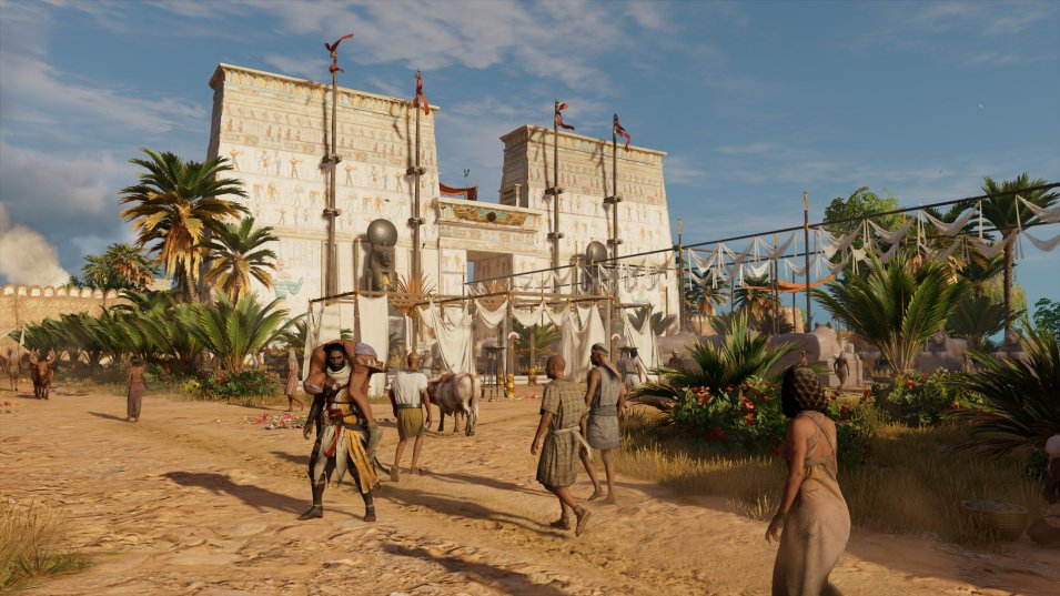 Assassins Creed Origins | Ägyptischer Tempel