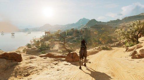 Assassins Creed Origins | Tempelgelände