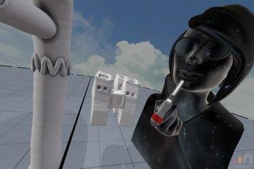 Selfie in Oculus Medium