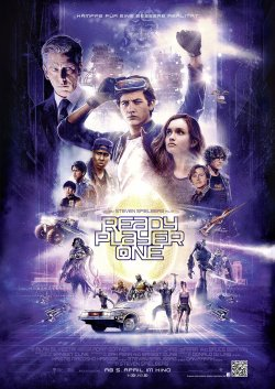 Filmposter von Ready Player One