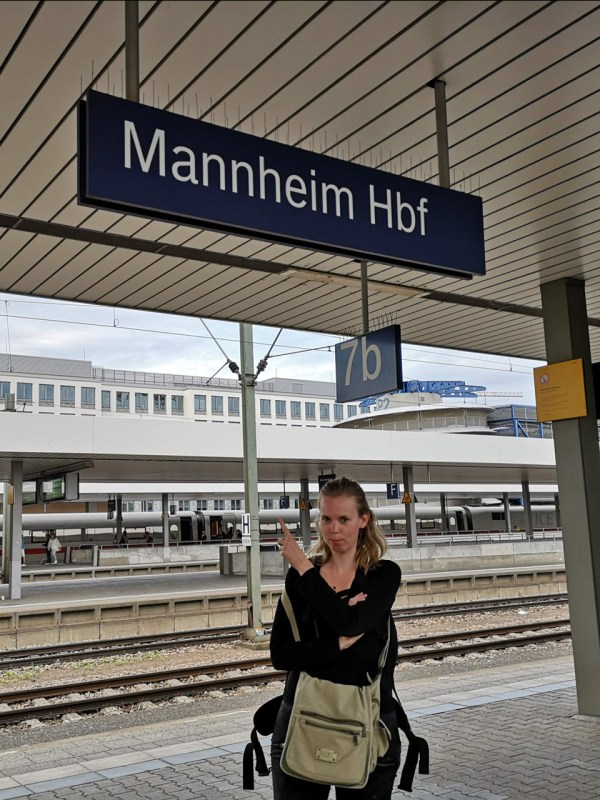 Bahnhof Mannheim