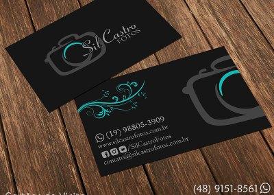 Cartão de visita - Sil Castro