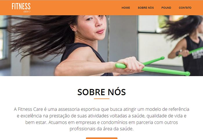 Fitness Care Assessoria - Site