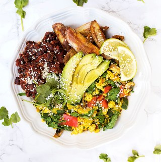 is soy bad for you? the truth about soy tofu scramble bowl
