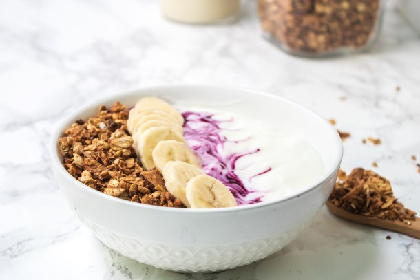 gluten free vegan peanut butter granola