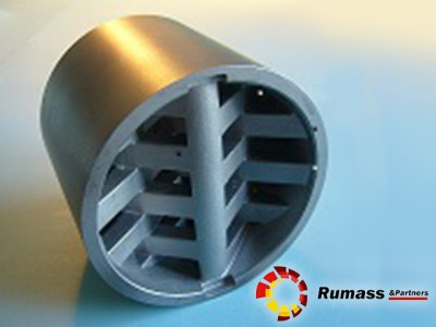 Static Mixer in Plastic Industry by Rumass & Partners