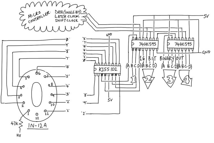 Arduino Nixie GPS Clock: Part 2   plingboot