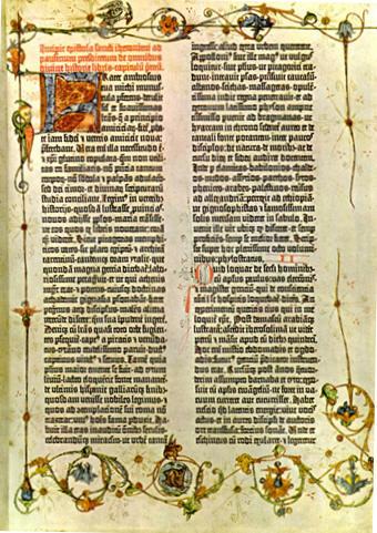 A Bíblia de Gutemberg