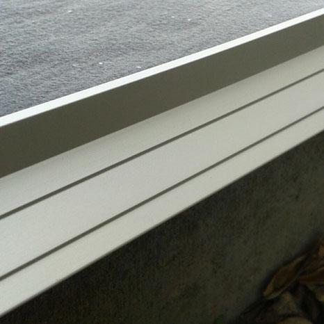 profil alu terrasse goutte d eau alu