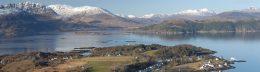 View from above Plockton
