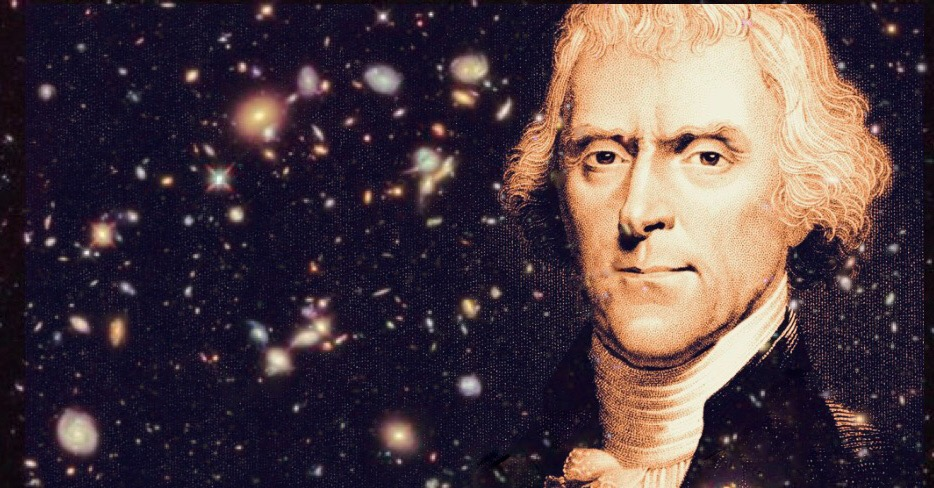 Thomas Jefferson and the Shapeshifting UFO