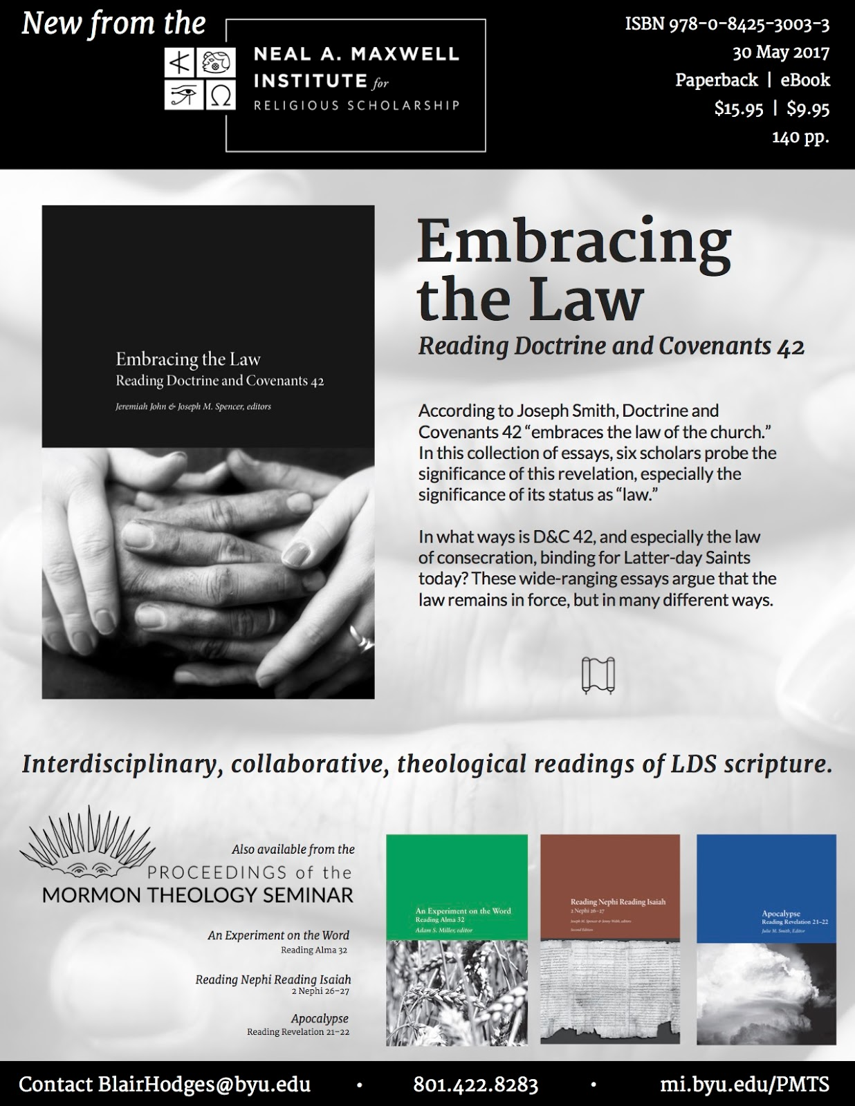 Book Review: Embracing the Law: Reading Doctrine and