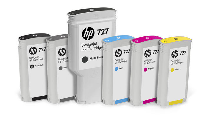 HP 727 Designjet T920 T1500 T2500 Ink Cartridge