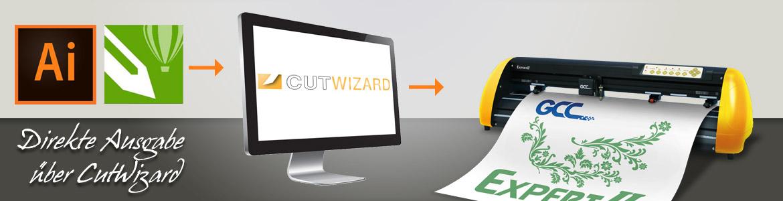 CutWizard kostenlose Schneideplotter Software
