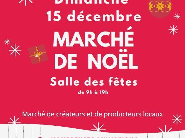 Marché de Noël le 15 décembre