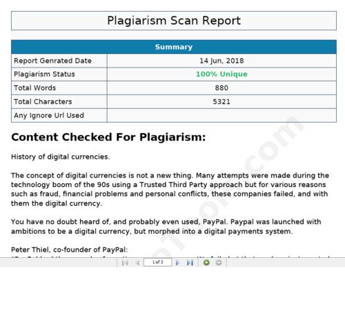 Plagarism Check