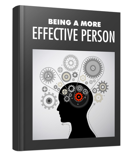 Being a More Effective Person MRR 1