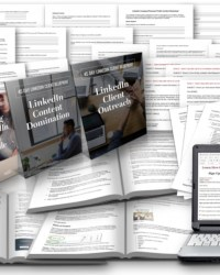 FREE 45 Day LinkedIn Client Blueprint  – 4 Week Report + Ecourse.