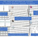 NEW: 365 Days of Affirmations, Journal, Planner and Card Decks EKit