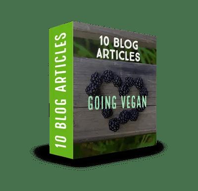 Vegan PLR Article Pack$7.99