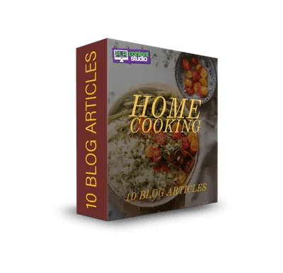 Home Cooking PLR Article Pack