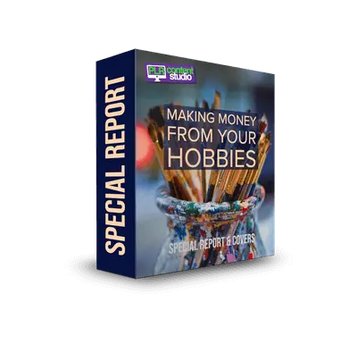 Making Money from Your Hobbies PLR Report