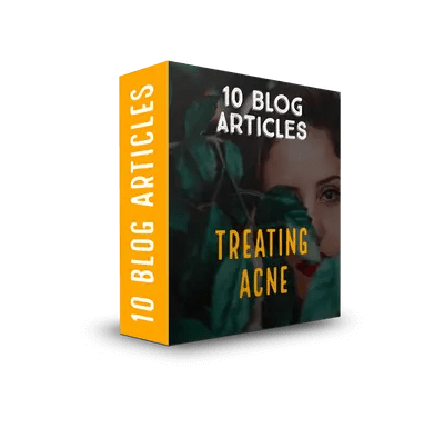 Treating Acne PLR Article Pack