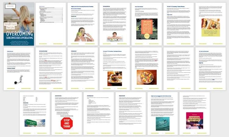 07-Subconscious eating PLR Report Sample