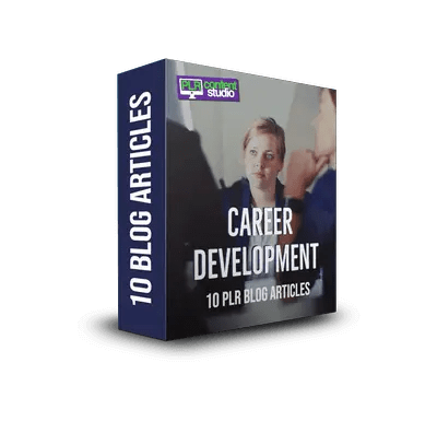Career Development PLR Article Pack