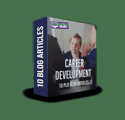 Career Development PLR Article Pack$7.99