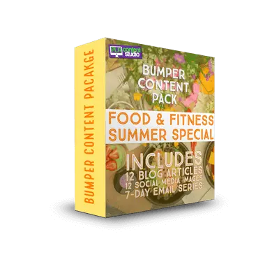 Food & Fitness – Summer Special PLR Content Pack