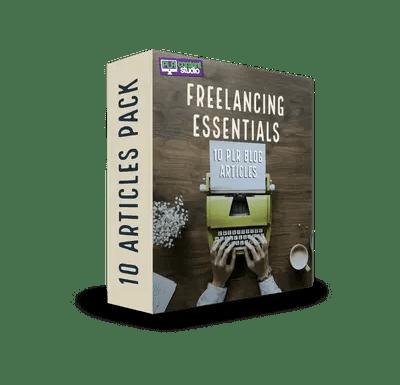 Freelancing Essentials PLR Article Pack  $7.99