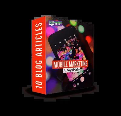 Mobile Marketing PLR Article Pack