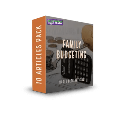 Family Budgeting PLR Article Pack