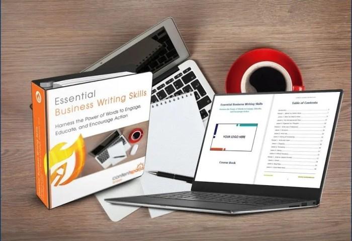Essential Business Writing Skills PLR Course