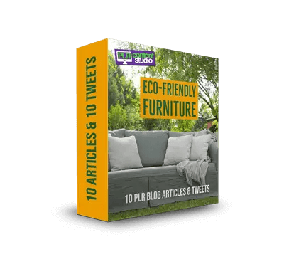Eco-Friendly Furniture PLR Articles Pack
