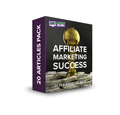 Affiliate Marketing 20 PLR Articles PackOnly $5.99