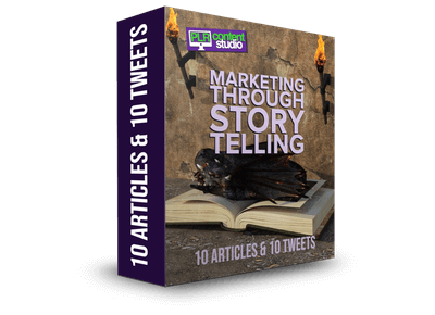 marketing through storytelling plr articles pack