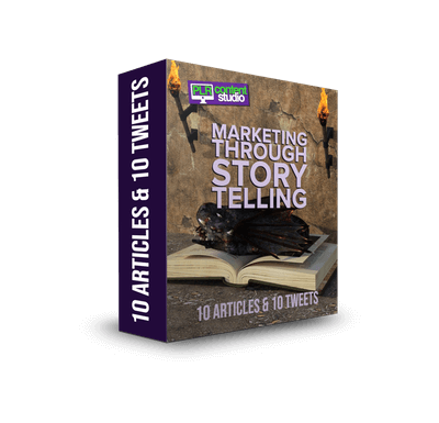 Marketing Through Storytelling Articles Only $5.99