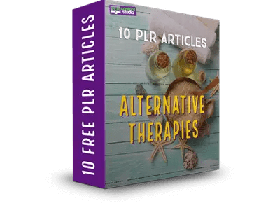 FREE-PLR-alternative-therapies articles pack
