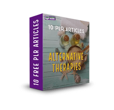 Alternative Therapies FREE PLR Article Pack