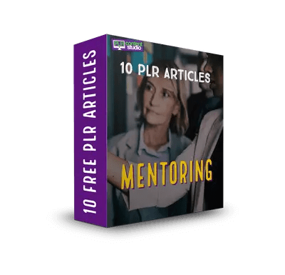 Mentoring 10 FREE PLR Articles Pack