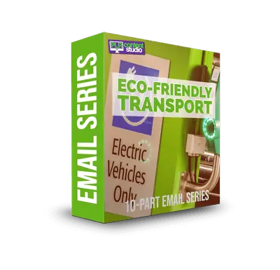 Eco-Friendly Transportation Email Series $7.99