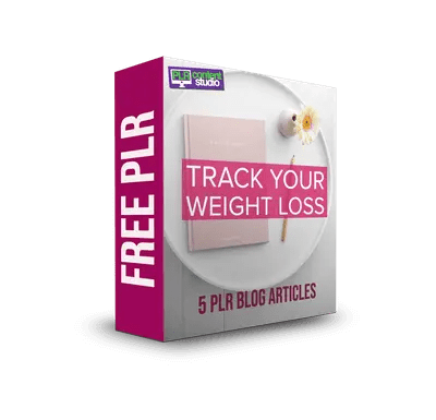 Track Your Weight Loss FREE PLR Articles