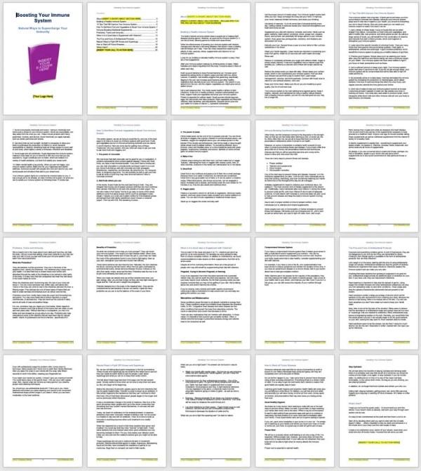 Boost-immune-system-plr-ebook-screenshot